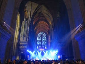 San Fermin at Liverpool Cathedral, Sound City 2014